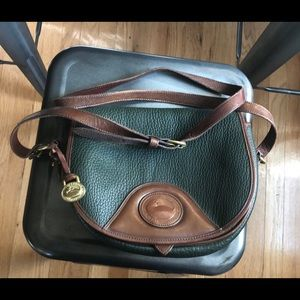 Authentic Dooney & Bourke Vintage Dk Green Bag